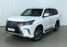Lexus LX 2018 г. (белый)