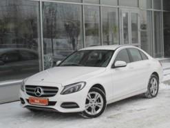 Mercedes-Benz C-klasse 2014 г. (белый)