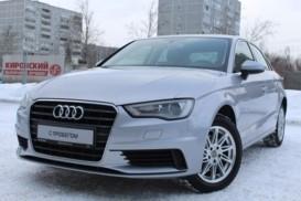 Audi A3 2015 г. (серебряный)