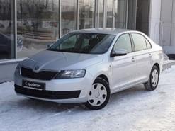 Škoda Rapid 2014 г. (серебряный)