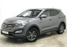 Hyundai Santa FE 2012 г. (серебряный)