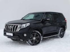 Toyota Land Cruiser Prado 2014 г. (черный)