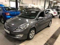 Hyundai Solaris 2016 г. (серый)