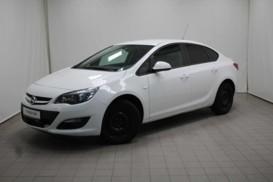 Opel Astra 2014 г. (белый)