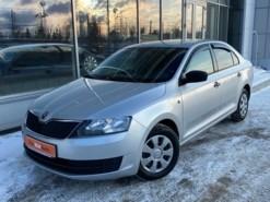 Škoda Rapid 2017 г. (серебряный)