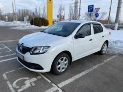 Renault Logan 2017 г. (белый)