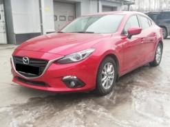 Mazda 3 2015 г. (красный)