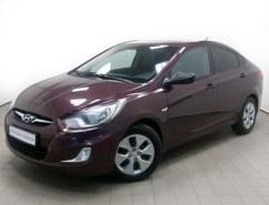 Hyundai Solaris 2012 г. (фиолетовый)