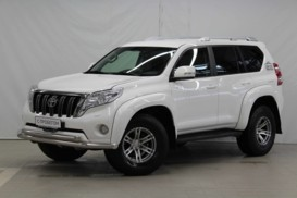 Toyota Land Cruiser Prado 2014 г. (белый)