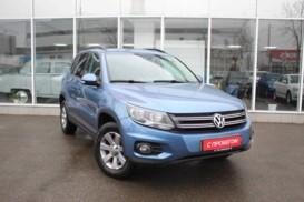 Volkswagen Tiguan 2012 г. (голубой)