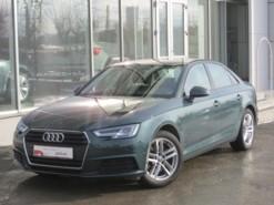 Audi A4 2018 г. (зеленый)