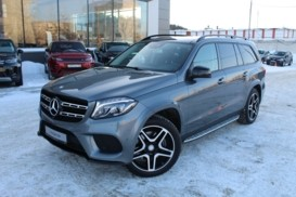 Mercedes-Benz GLS 2016 г. (серый)