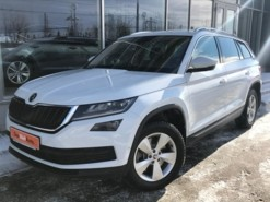 Škoda Kodiaq 2018 г. (белый)