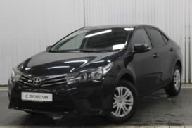 Toyota Corolla 2013 г. (черный)