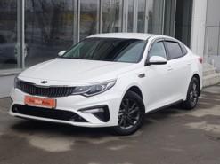 Kia Optima 2018 г. (белый)