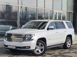 Chevrolet Tahoe 2016 г. (белый)