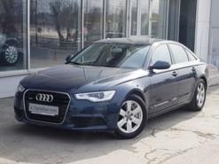 Audi A6 2011 г. (голубой)
