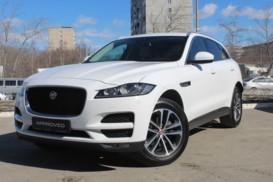 Jaguar F-Pace 2017 г. (белый)