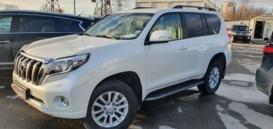 Toyota Land Cruiser Prado 2016 г. (белый)