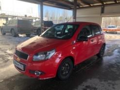 Chevrolet Aveo 2011 г. (красный)