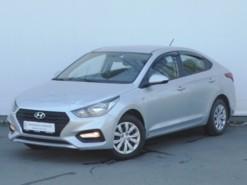 Hyundai Solaris 2017 г. (серебряный)
