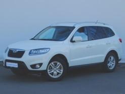 Hyundai Santa FE 2011 г. (белый)
