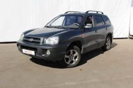 Hyundai Santa FE 2009 г. (серый)