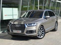 Audi Q7 2017 г. (бежевый)