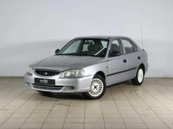 Hyundai Accent 2007 г. (серебряный)