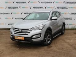 Hyundai Santa FE 2014 г. (серебряный)