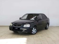Hyundai Accent 2007 г. (черный)