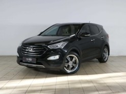 Hyundai Santa FE 2015 г. (черный)