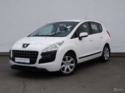 Peugeot 3008 2012 г. (белый)