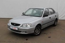 Hyundai Accent 2006 г. (серебряный)