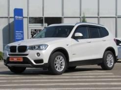 BMW X3 2016 г. (белый)
