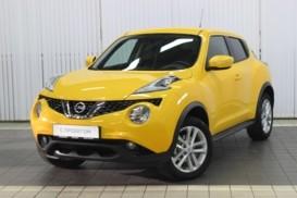 Nissan Juke 2017 г. (желтый)