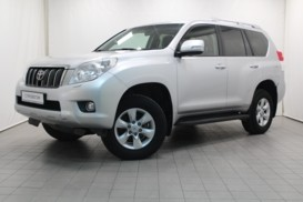 Toyota Land Cruiser Prado 2012 г. (серебряный)