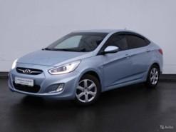 Hyundai Solaris 2013 г. (голубой)