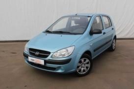 Hyundai Getz 2009 г. (синий)