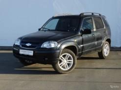 Chevrolet Niva 2009 г. (черный)