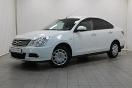 Nissan Almera 2014 г. (белый)