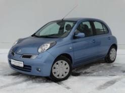 Nissan Micra 2008 г. (голубой)