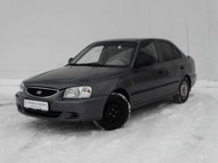 Hyundai Accent 2007 г. (серый)