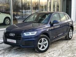 Audi Q5 2018 г. (синий)