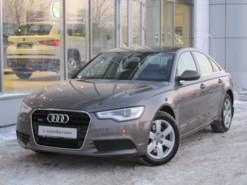 Audi A6 2012 г. (бежевый)