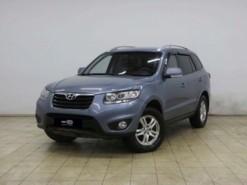 Hyundai Santa FE 2011 г. (синий)