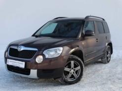 Škoda Yeti 2013 г. (коричневый)
