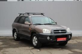Hyundai Santa FE 2005 г. (коричневый)