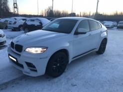 BMW X6 2013 г. (белый)