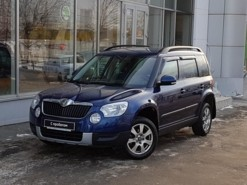 Škoda Yeti 2011 г. (синий)